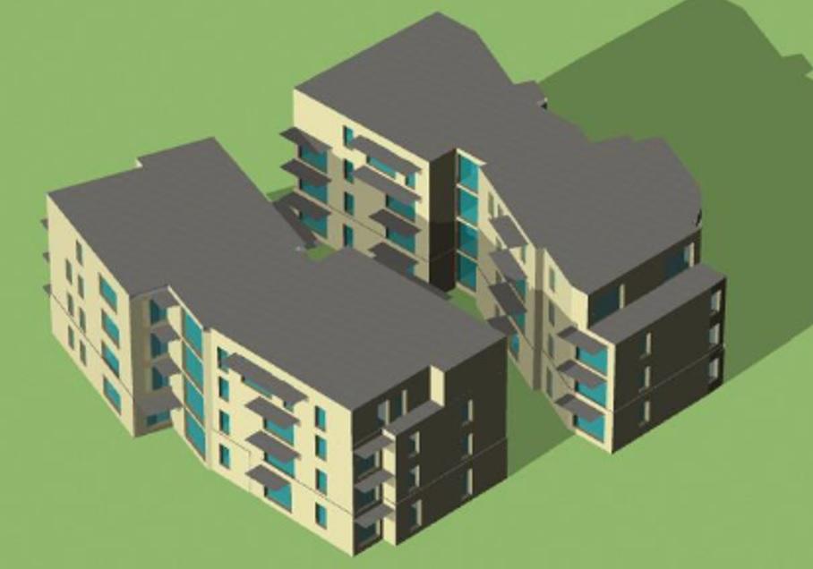 Construction de 31 logements collectifs à SAINT MAXIMIN (60)