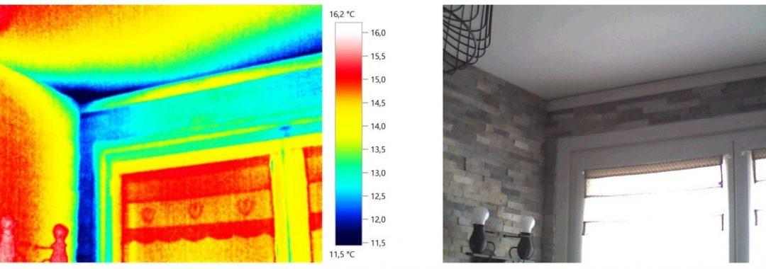problèmes de condensation/moisissures dans le bâtiment